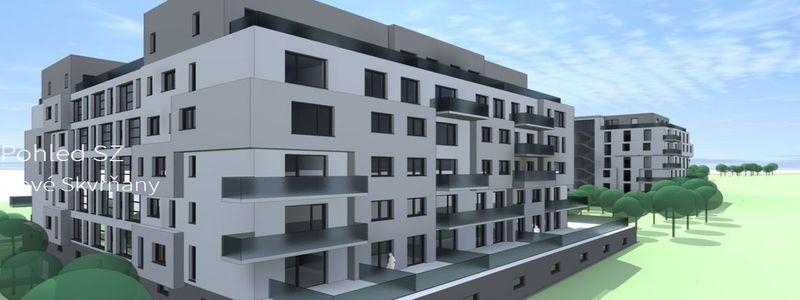 bytové domy v Plzni Nové Skvrňany